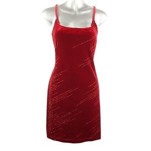 NWT Vintage 1001 Nights Velvet Bodycon Party Dress